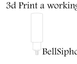3d Printed Bell Siphon