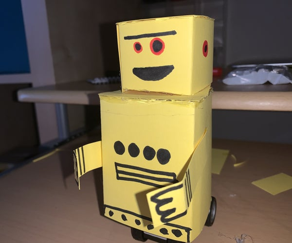 Mini Driving Instructables Robot