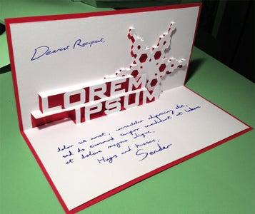 Lorem Ipsum Christmas Card