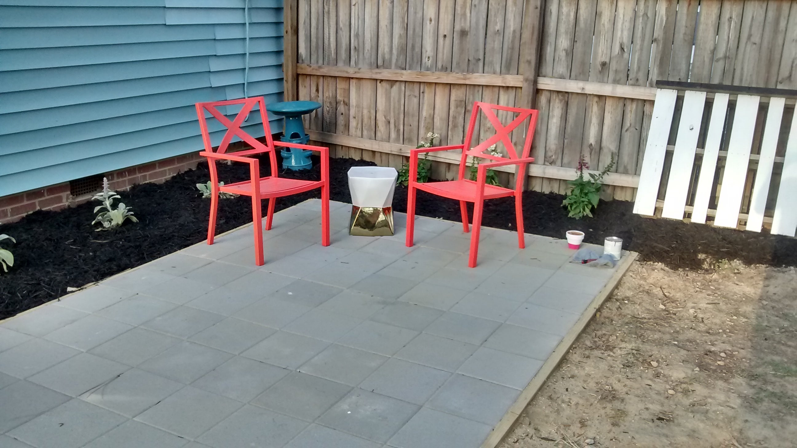 Building A Simple Patio Using Paving Stones 9 Steps With Pictures Instructables
