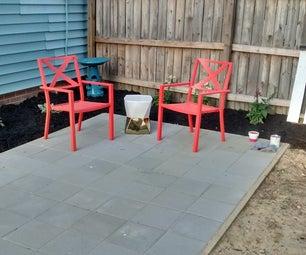 Building a Simple Patio Using Paving Stones