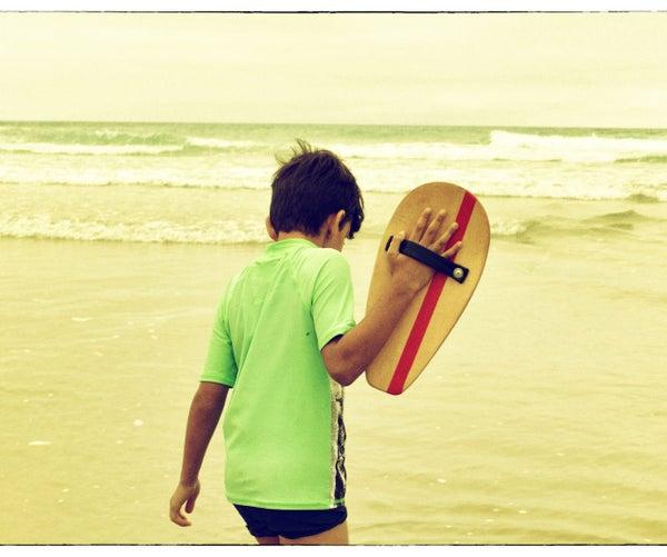 From Skateboard to Handplane
