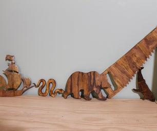 Wooden Wall Cutouts.