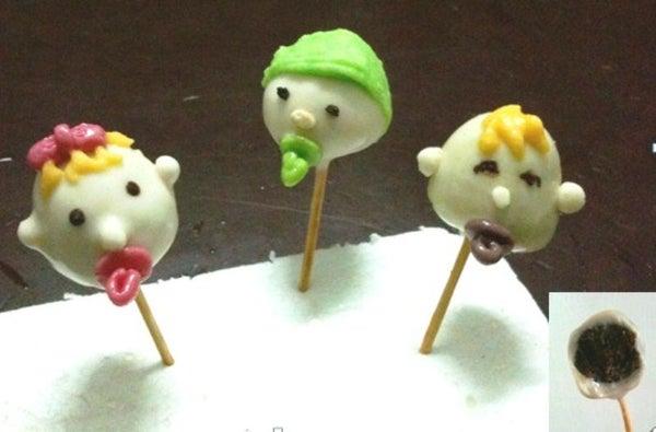 Cute Baby Cake Pops!