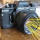 Classic SLR camera flashlight hack