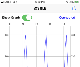 IOS App for Adafruit Feather NRF52832