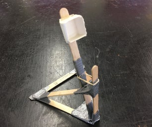Duct Tape + Craft Sticks = Siege Weapon