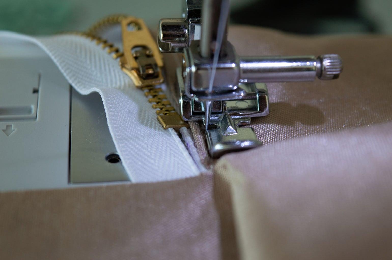 Sew in Zipper Side 1