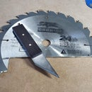Marking Knife From Old Saw Blade