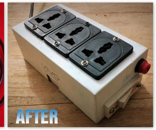 DIY - Portable Extension Cord