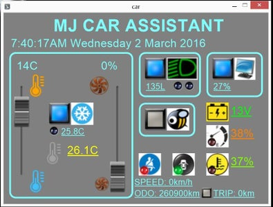 My Car Assistant (Embebbed Car Automation Computer)!