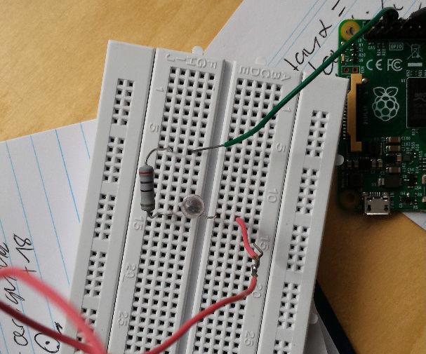 Morse Code Using Raspberry Pi and LED!