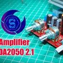 Amplfier 2.1 TDA 2050