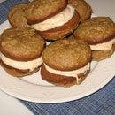 How to make Gingerbread Pumpkin Whoopie Pies