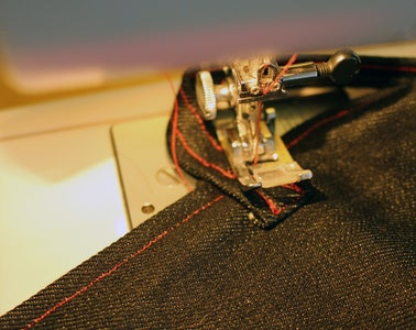 Sew on the Straps... and You're Finished.