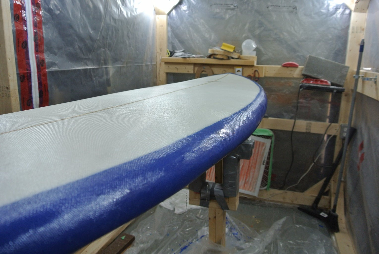 Laminating/Glassing the Deck