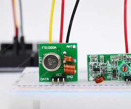 Personal One Way Radio Using Arduino Transmitter and Receiver Modules