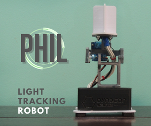 How to Build PHIL - a Light Tracking Robot