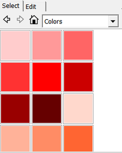 Add in the Colors