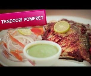 How to Make Tandoori Pomfret (Recipe)