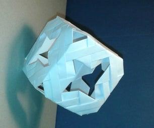 A Cube Full of Stars (modular Origami)