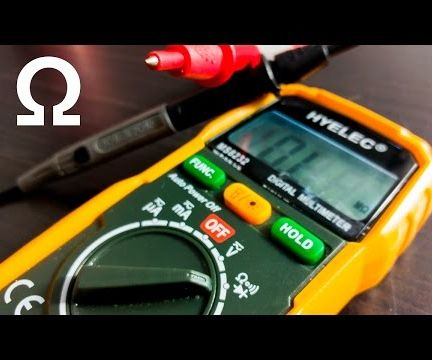 Multimeters - Resistance and Continuity