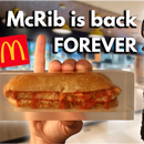 McRib Is Back...FOREVER. (Preserving Food and Polishing Epoxy)