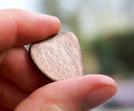 Handmade Wooden Guitar Picks