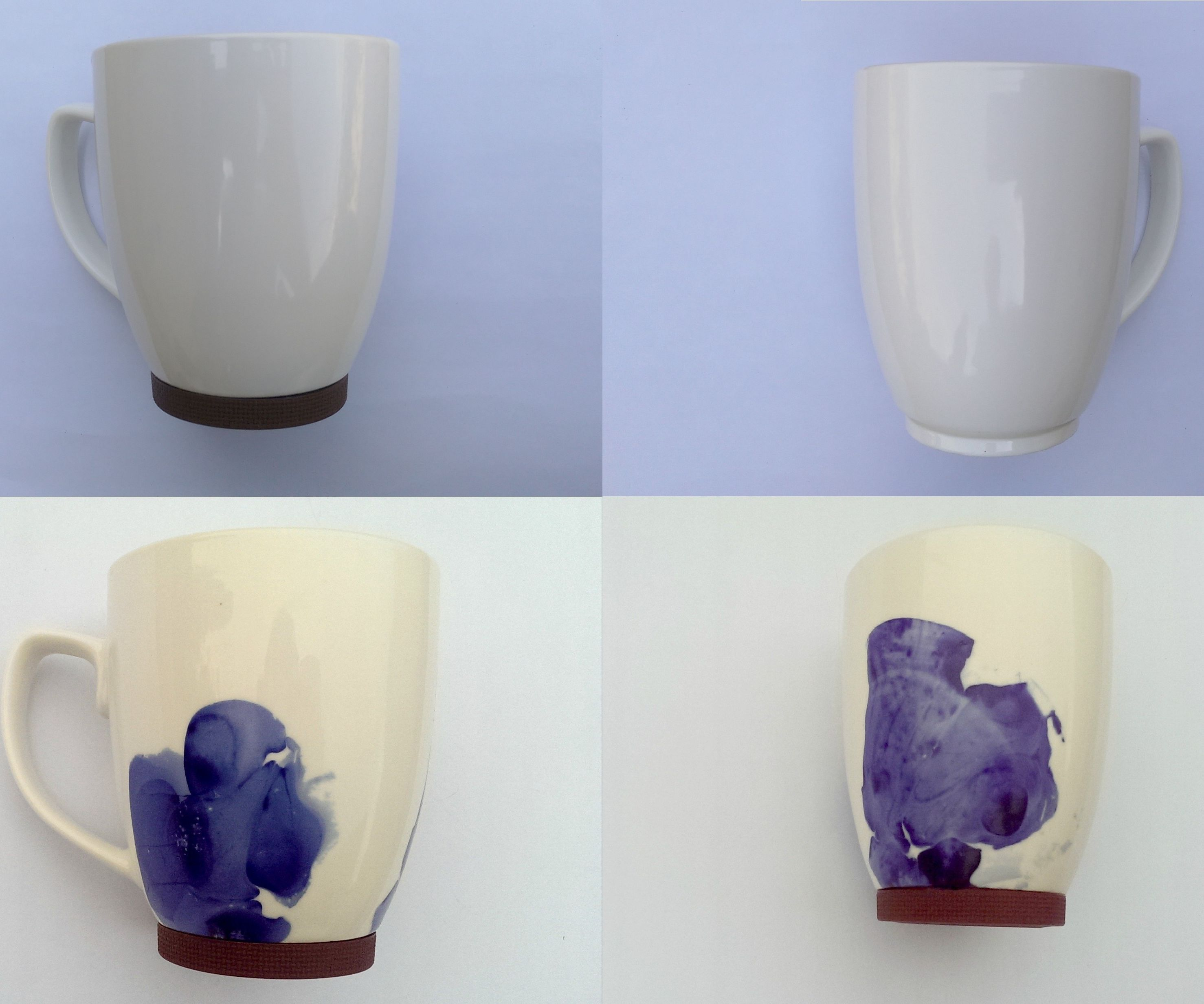 Abstract Designs On Coffee Mugs Using Nail Polish 6 Steps With Pictures Instructables