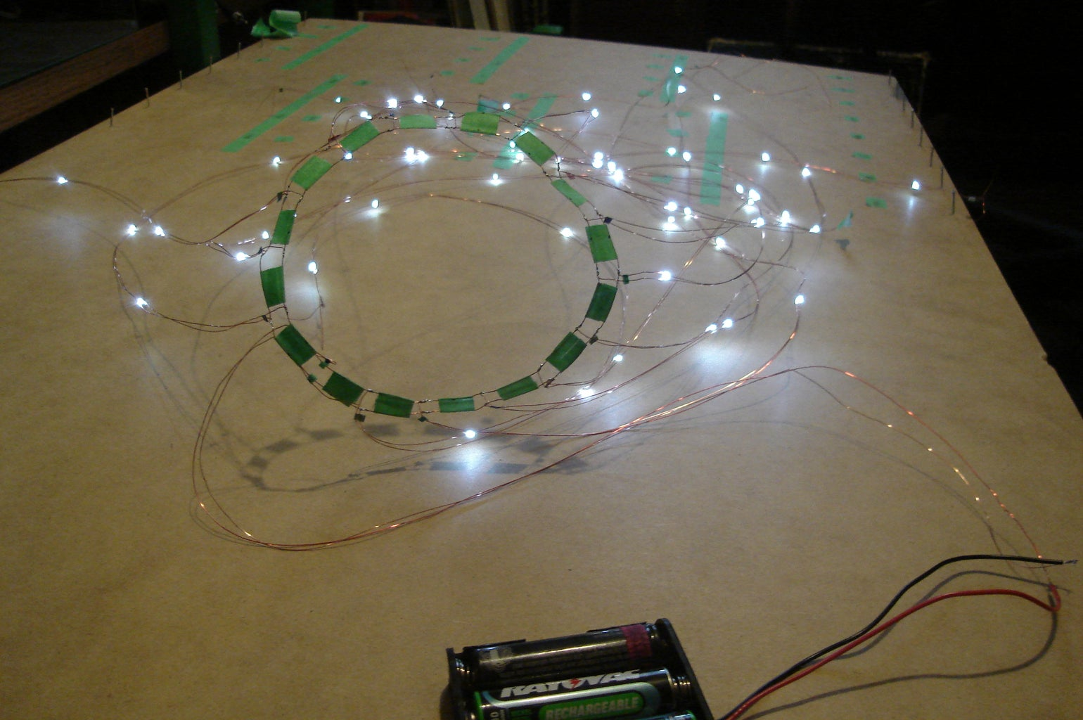 Assemble the Central Hub for the Wires