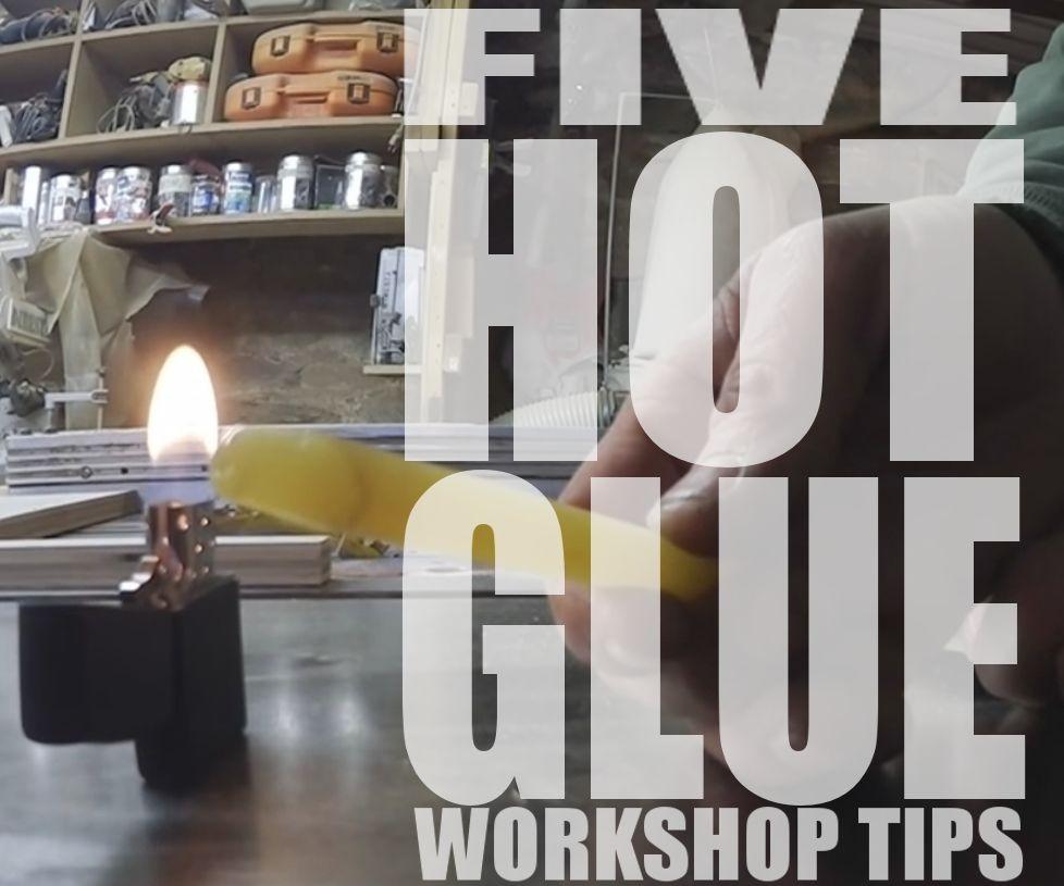 Jimmy DiResta Collaboration: 5 Hot Glue Workshop Tips