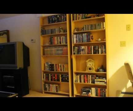 Electro Mechanical Control of Hidden Bookcase Doors