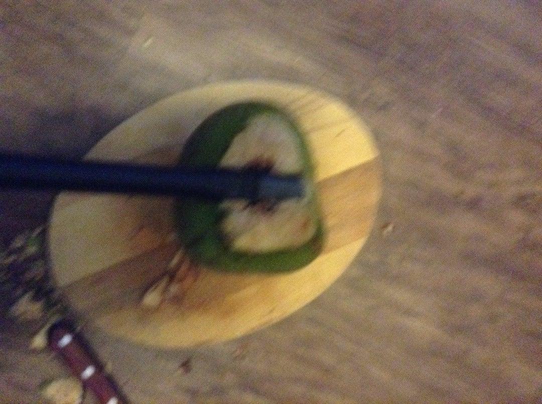 Cut in Half the Coconut