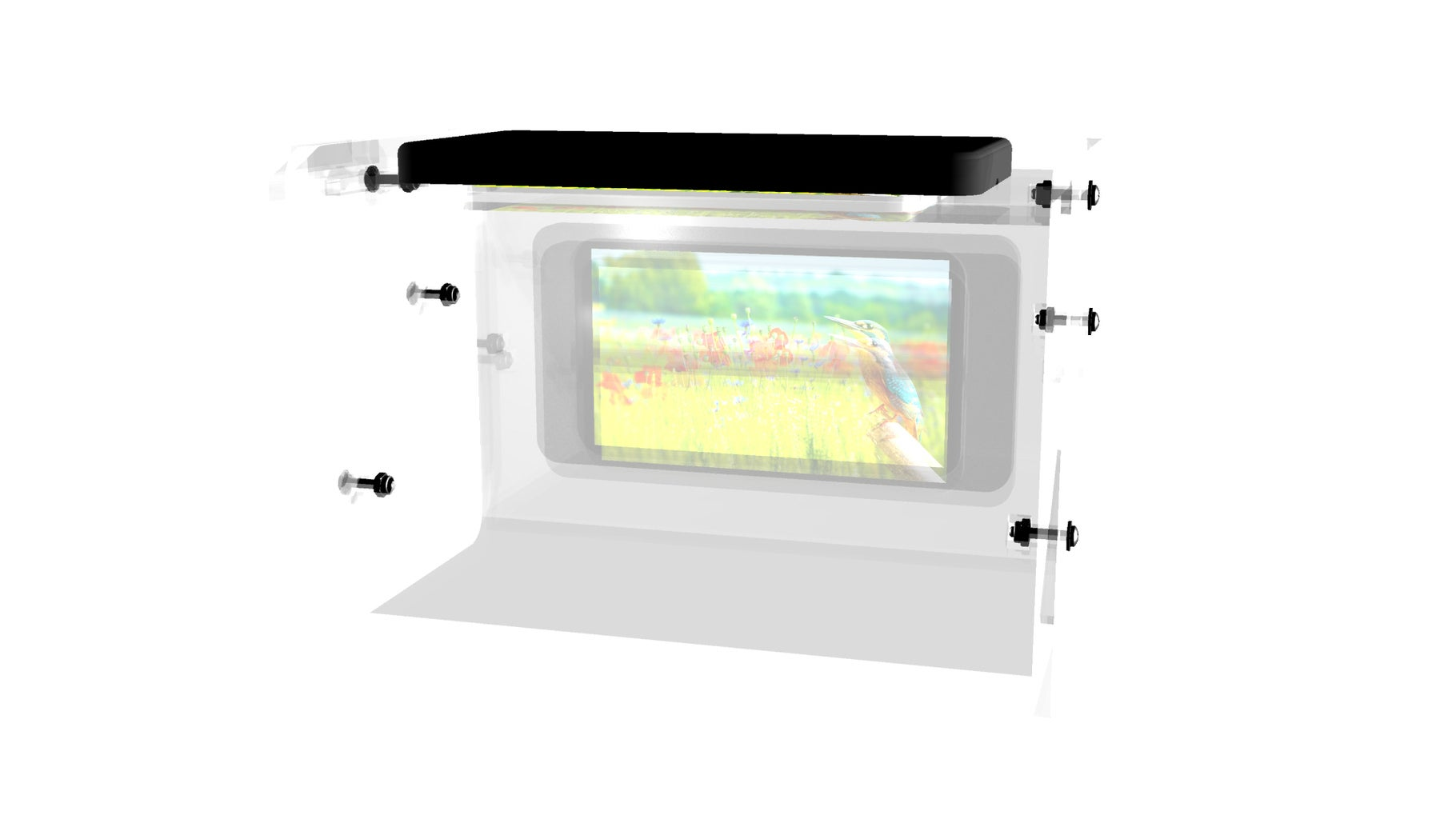Small 5-in Landscape Holographic Display