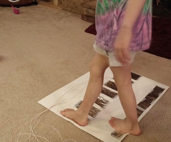 Easy Makey Makey Floor Piano