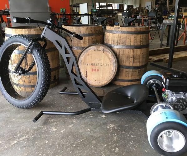 Drift Trike From 16 Gauge Steel Sheet