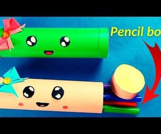 How to Make a Paper Pencil Box Easy?