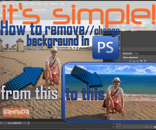 Remove//Change Background in Photoshop