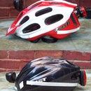 No tool, adjustable, bike helmet light.