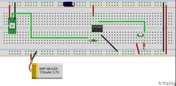 Return to the Breadboard - With the ATTiny 85