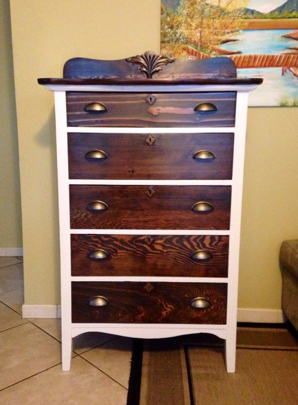 How to Restore an Old Dresser
