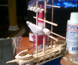Making a 2 Inch Ship From Balsa and Basswood
