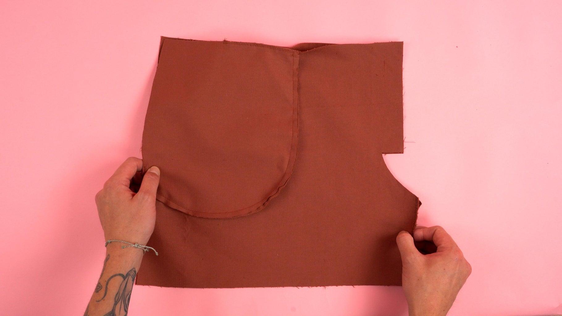 Assembling Front Pant Panels