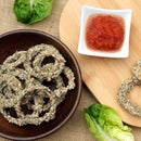 Healthy Onion Rings - Raw & Cooked version!