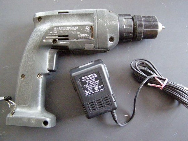 Convert a Battery Drill to Wall Power