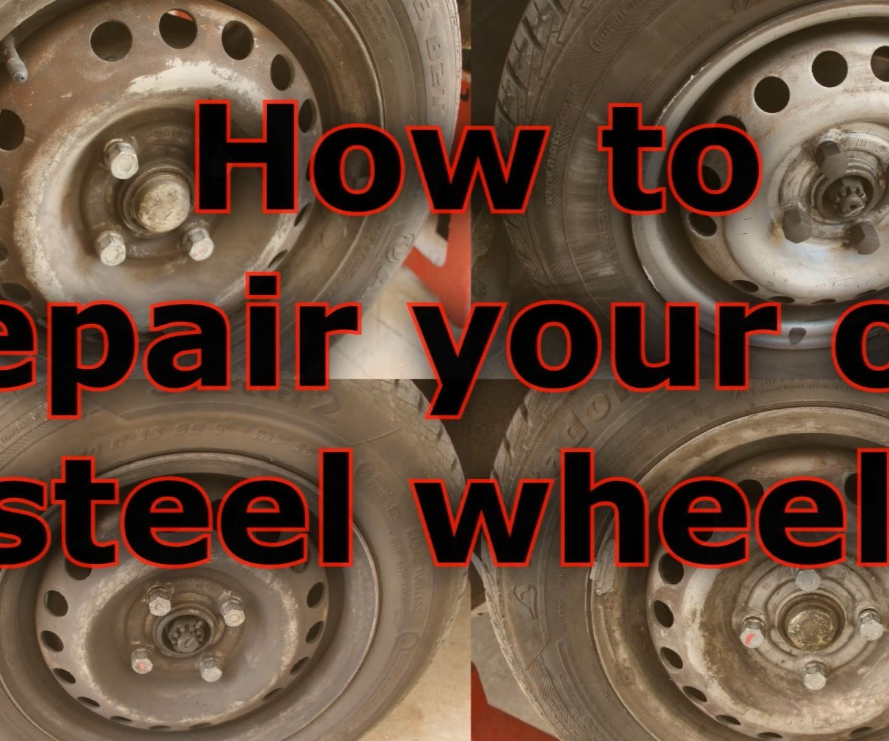 Renew old steel wheels