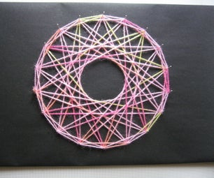 How to Make String Art With Yarn