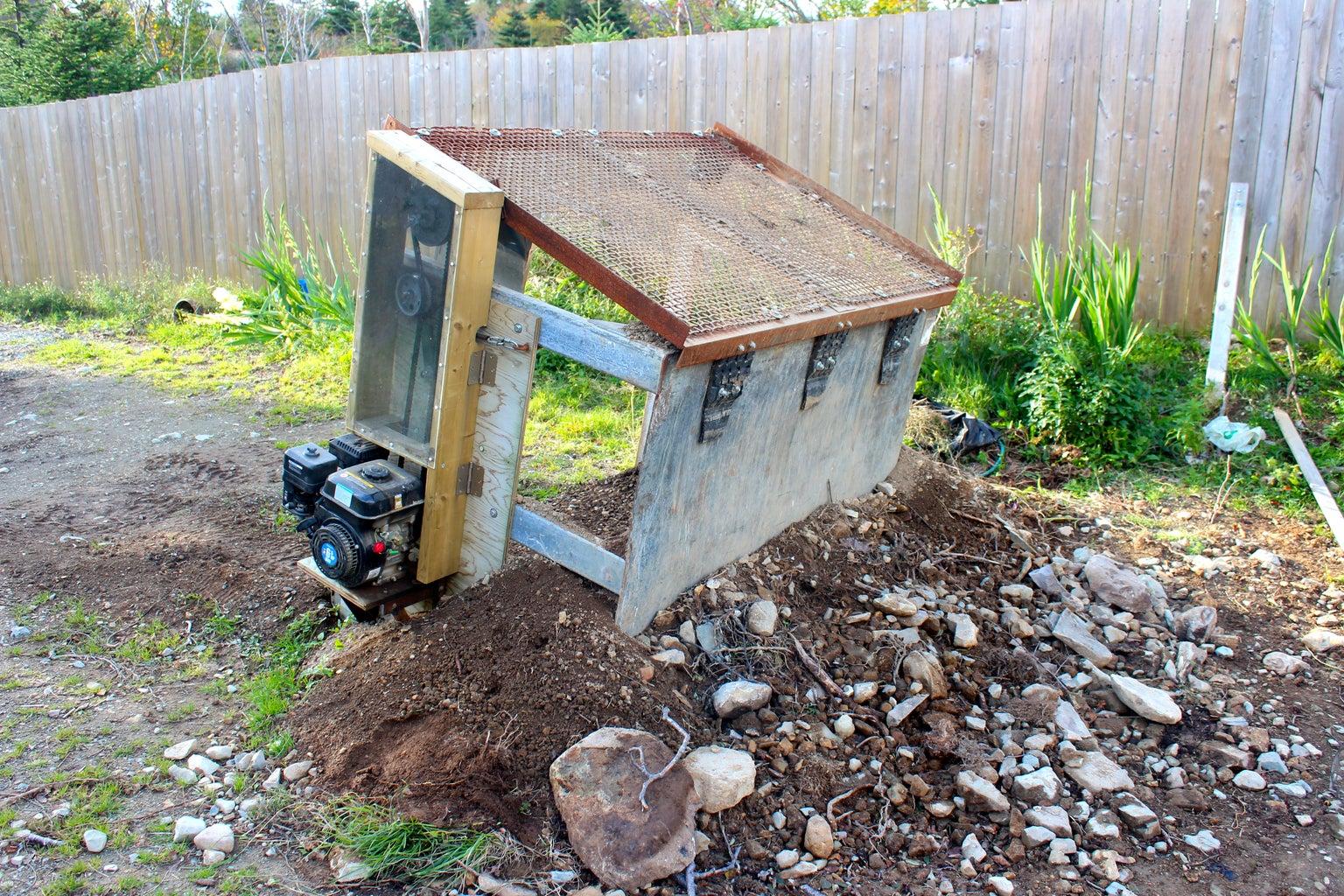 Homemade Soil Screener/sifter