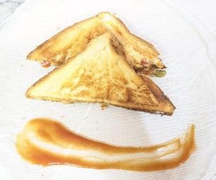 香辣烤三明治