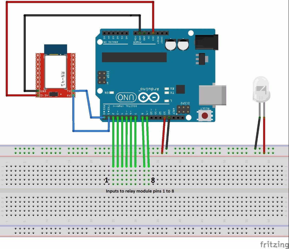 Circuit and Connections